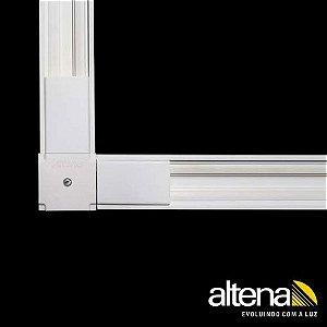 Conexão 90° para Instalações Suspensas 200mm Branco Altena TRA00030A BR