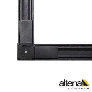 Conexão 90° Preto Altena TRA00005 PR