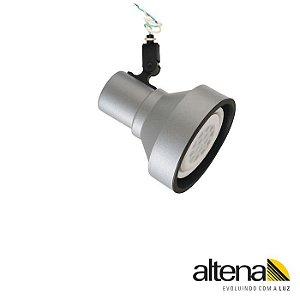 Spot Style Sem Canopla PAR-30 E-27 Platinado Altena SCP07030 PN
