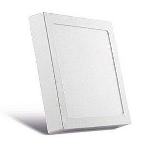 Luminária de Sobrepor Quadrada Branca 62x62cm 45W Bivolt 3000K 3200LM 120º  Saveenergy SE-240.937