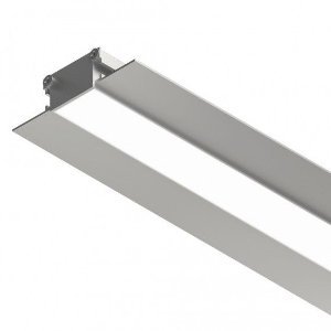 Perfil Embutir Sistema de Iluminação Linear K25 1350LM 1MT Misterled SLED9043