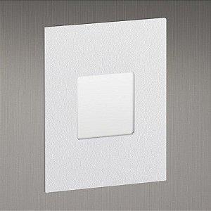 Balizador para Caixa de Luz  Linha Montenero Quadrato 4×2  Difusor Vertical Misterled SLED 6067DV