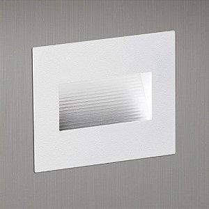 Balizador para Caixa de Luz Linha Montenero Quadrato 4×4 136mmx115mm Refletor 1W 96Lm Misterled SLED6060R
