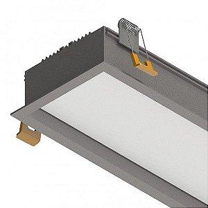 Perfil de Embutir Difusor Recuado 1MT  E100 43W 3300 Lumens  IP 20 Misterled SLED 9077