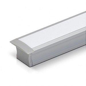 Perfil Embutir 9,6W 850 Lumens 1MT  IP20  Misterled SLED9002