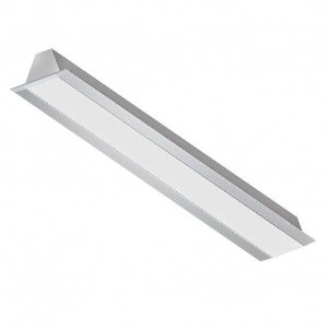 Perfil de Embutir em Gesso ou Drywall 1MT 19W 12 VDC 1850 Lumens Misterled SLED 9004N