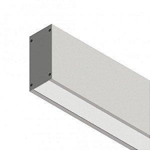 Perfil Sobrepor com Facho Simples Linear W96 14,4W 12 VDC 1350Lm IP20 Misterled SLED 9006