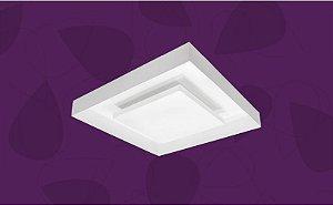 Plafon Hitter Quadrado Branco 39,4x39,4cm Bellalux 190640