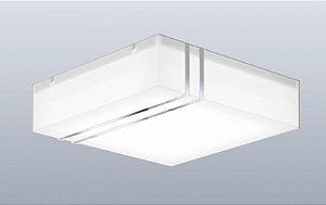 Plafon Hades Branco com Detalhe em Espelho Bellalux 160226
