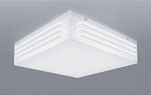 Plafon Cronos Branco Quadrado 41x41cm Bellalux 160180
