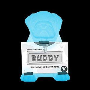Luminária de Mesa Buddy Cor Azul Usare BUDDYAZ