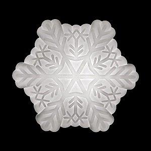 Luminária de Mesa Floco de Neve Cor Natural Usare FLOCO