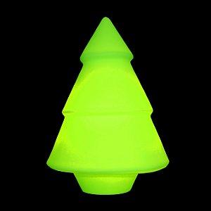 Luminária de Mesa Árvore de Natal com Caneta para Anotar Recados Cor Verde Usare US07