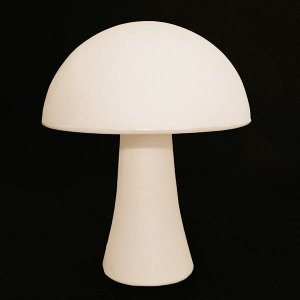 Luminária de Mesa Formato Cogumelo Cor Natural Usare US54