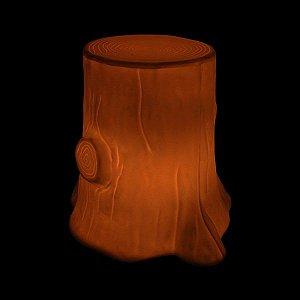 Luminária de Jardim Banco Árvore Iluminado Cor Madeira Usare US52