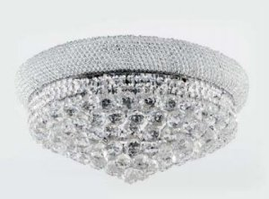 Plafon Metal + Cristal K9 - 9 lamp. E14 (D)60 x (A) 27cm Adn+ SJ6096/9