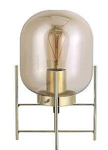 Abajur Flint 1xE27 Lâmpada LED de Filamento  Ø16 x A28,5 cm 40W Quality QAB1335CH