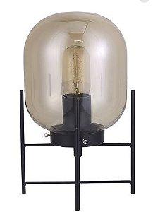 Abajur Flint 1xE27 (Lâmpada LED de Filamento) Ø16 x A28,5 cm 40W Quality QAB1335FM