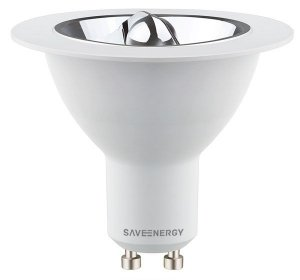 Lâmpada AR70 4,8W 24o 350LM 2700K GU10 85-240V Saveenergy SE-100.1647