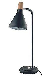 Luminária Horn 14x49cm 1xG9 40W Cor Preta Casual Light QLM1064-PT