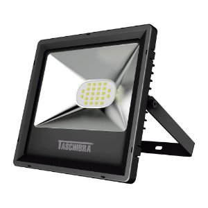 Refletor TR LED 20W 3000K Preto Taschibra 78970779077773