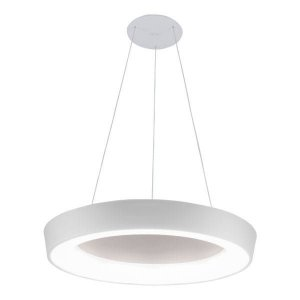 Pendente Apollo 33,6W 3000K 127/220V 60x9cm Cor Branco Total Newline 587LED3BTBT