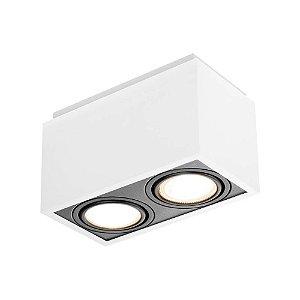 Plafon Box 2 Par20 50W  12x22x12cm Newline IN40132