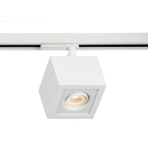Plafon Box Led 3W 3000k 225LM 127/220v 9x9x12cm Adaptador Branco Total Newline 560ABBT