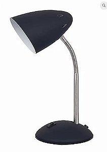 Luminária De Mesa Beak Metal Preto 1xE27 40W 20x14,5X30cm Quality QLM1162-PT
