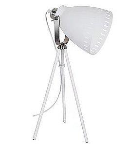 Luminaria Bergen  31x20x52cm 1xE27 40W Cor Branca Casual Light LM864-BR
