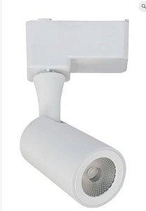 Spot Mark Alumínio 16.5x7.5x4.6cm LED 1x7W 3000K Cor Branco Casual Light QSP1371BR