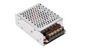Fonte Metálica 12V 5A 60W  Eco para Fitas LED  Stella STH9893