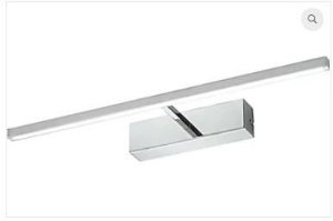 Arandela Roof Aluminio 4,5x59,5x12,5cm Led 12W 3000K Cor Cromado Casual Light AR804