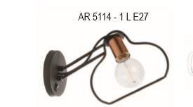 Arandela Contemporânea em Alumínio 31x20x54cm Old Artisan AR-5114