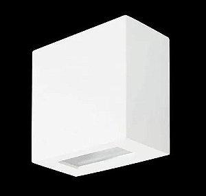 Arandela 1 Facho Alumínio e Vidro Transparente 10x10x05cm 1xG9 Led Integrado Itamonte Nac 233/1