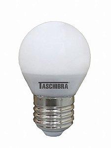 Lâmpada Bolinha TBL 40 Leitosa 4,8W 2700K  Taschibra 7897079077278
