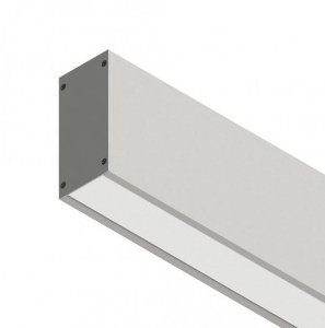 Perfil Sobrepor com Facho Simples Linear W96 14,4W 12 VDC 1350Lm IP20 2MT Misterled SLED9006 200