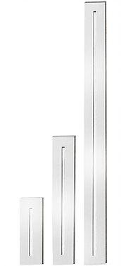 Balizador de Parede de Embutir Retangular Metal 1XG9  Halopin 15x5x6,5 cm Impacto 909
