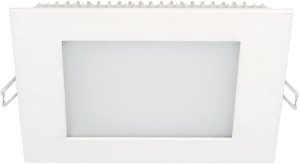 Painel Embutir Quadrado 12W 6500K 166x166mm Branco Taschibra 7897079054972