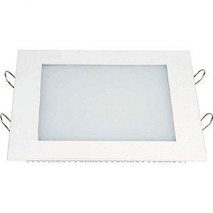 Painel Embutir Quadrado 18W 3000K IRC80 20x200mm Branco Taschibra 7897079081213