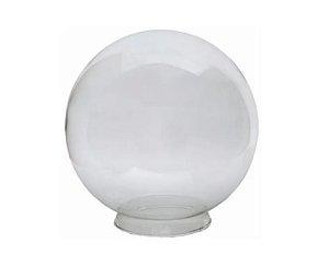 Globo 35 com Colar Transparente 35cm Boca 15 Luvidarte 5735TR