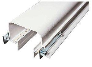 Perfil Embutir No Frame Linear Risk 92x3000x47mm Cor Branco Usina 30755/300 BT