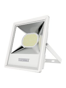 Refletor TR LED 100W 6500K 272x210x55mm Cor Branco Taschibra 7897079063288