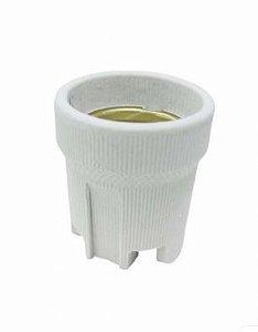 Soquete E27 Porcelana Cor Branco Taschibra 37897079032353