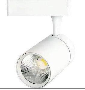 Spot para Trilho Eletrificado 20W 1600LM 3000K Cor Branco Initial SPOT.TRI-20G-BQ