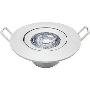 Spot Embutir Redondo LED 3W 3000K Bivolt  55x70x70mm Avant 863440579