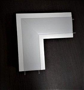 Junção Teto/Teto Sistema de Embutir Linear Polo 100x100mm Usina 30696/TT