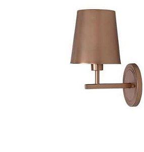 Arandela Cortona Metal 16x20x30,5cm 1xE27 LED Cor Metal Rose AR 133/M