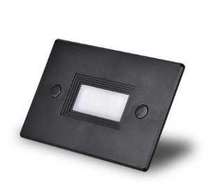 Balizador Embutir Externo para Caixa Luz  4x2 3W IP66 Branco Quente 3000K Initial BALI-EXR-3B-BQ