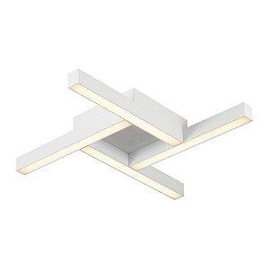 Plafon Fit Quadrado 5,8x43,5x43,5cm LED 4000K 25,2W Bivolt 127V / 220V 681LED4